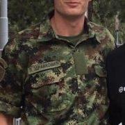 Luka Zdravković vojnik